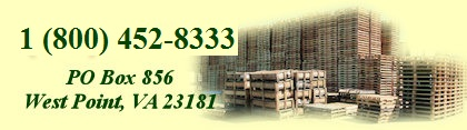 Direct Wood Products of Virginia offers both new and reconditioned industrial pallets.